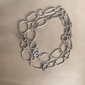 Brighton Silver-link belt or necklace